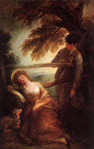 Gainsborough, Thomas - Haymaker And Sleeping Girl