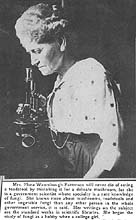 Flora W. Patterson: The First Woman Mycologist at theUSDA